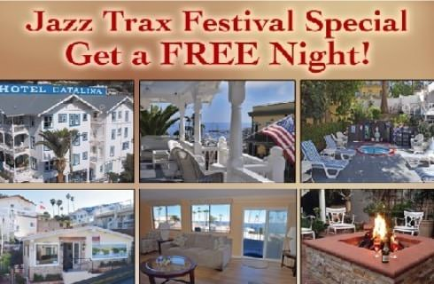 Collage of images regarding a Jazz Festival discount